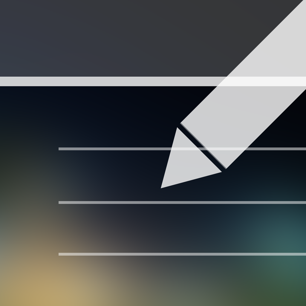 TextFlight(テキストフライト) :  通知センターに メモを貼り付ける ウィジェット